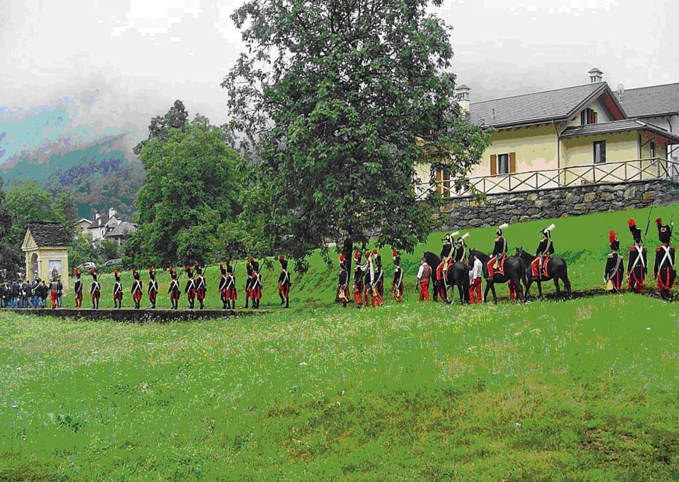 Figura 3. La Milizia Tradizionale di Bannio Anzino, Agosto 2011