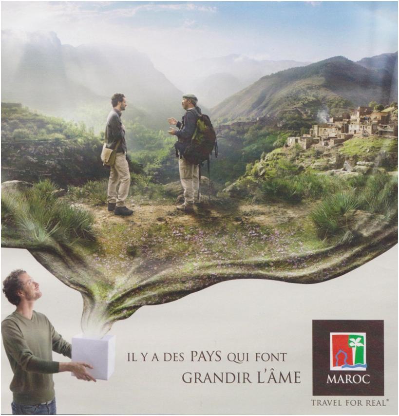 Figure 7. Brochure de l'Office National Marocain du Tourisme, 2008.