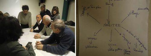 Atelier participatif à Lus-la-Croix-Haute